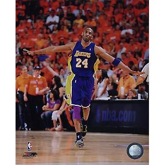 Kobe Bryant 2009 / 10 Playoff-Action-Sport-Bild (8 x 10)