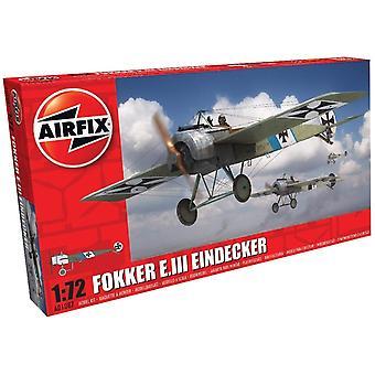 Airfix A01087 Model Kit Fokker E. III Eind männlich