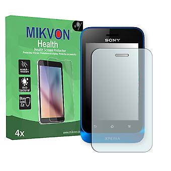 Sony Xperia ST21i Screen Protector - Mikvon Health (Retail Package with accessories)