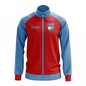 Djbouti Concept Football Track Jacket (Red)