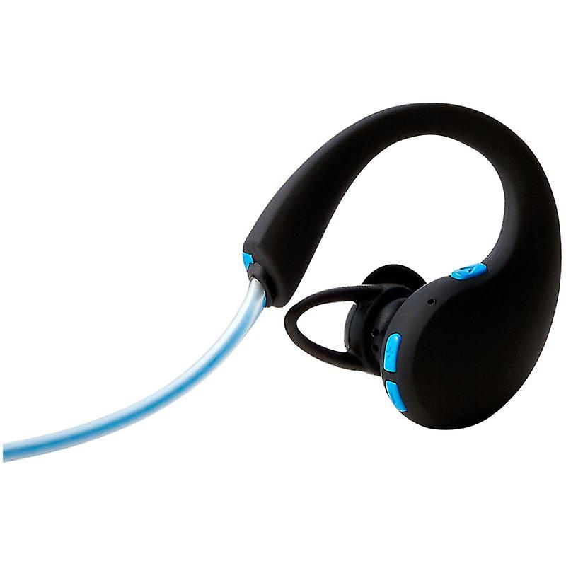 Groov-e GVBT800BE Action Wireless Bluetooth Sports Headphone with LED Neckband