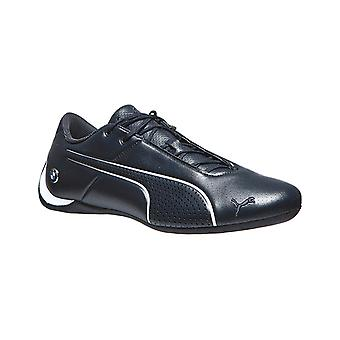 Mens real leather sneaker BMW MMS PUMA future cat blue