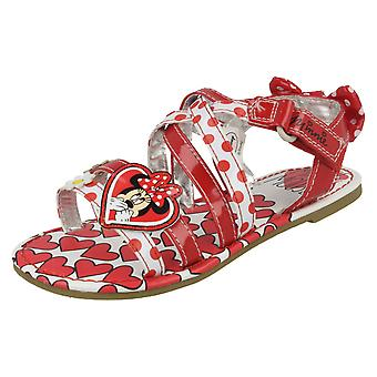 Girls Disney Casual Ankle Strap Sandals Minnie Mouse Emilia