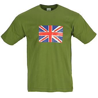 New Union Jack UK Flag Printed World Cup T-Shirt
