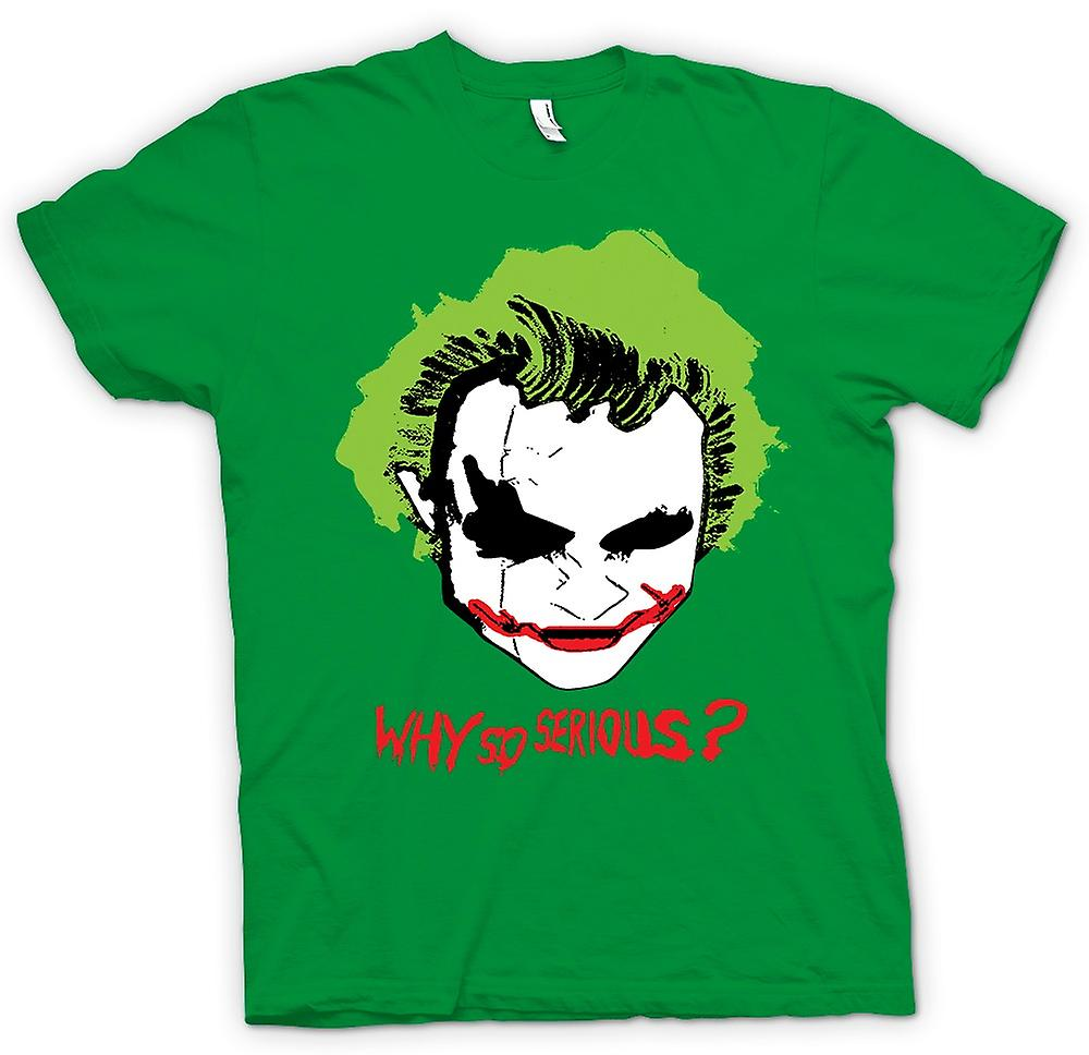 Heren T-shirt-Batman Why So Serious