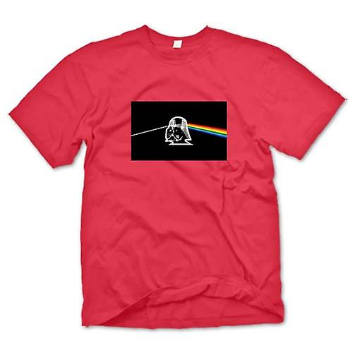 Mens T-shirt - Pink Floyd - Star Wars - Darth Dark Side