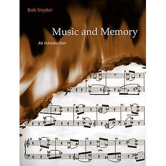 Muziek en geheugen - An Introduction by Robert Snyder - 9780262692373 Bo