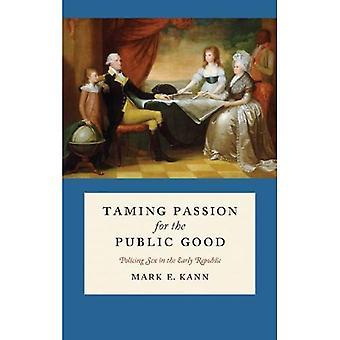 Taming lidenskap for offentlig gode