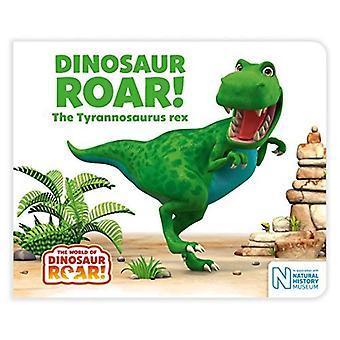 Rugissement de dinosaure! Le tyrannosaure rex