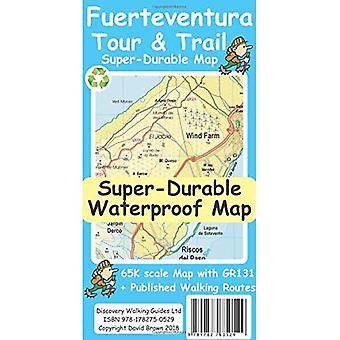 Fuerteventura Tour & Trail Super-Durable Map