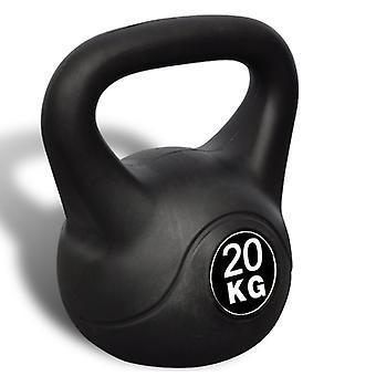 Kettlebell haltère poids musculation haltérophilie exercices gym 20 kg 0702047