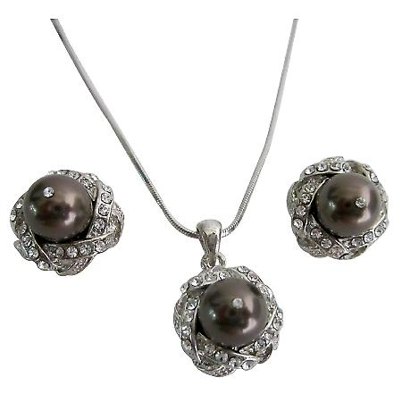 Bridal Jewelry Wedding Advice Wedding Accessory Brown Pearls