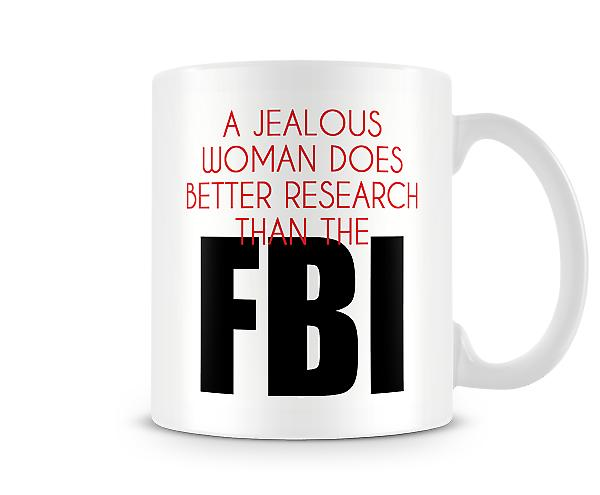 Jealous Woman Does Better Research Than The FBI Mug