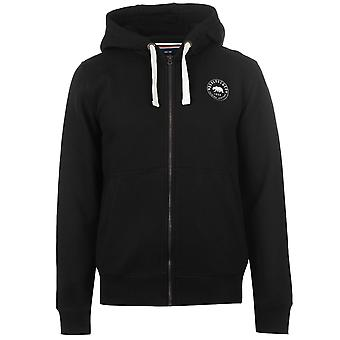 SoulCal Mens Signature Zip Sweat à capuche Hoodie capuche Top manches longues Jersey complet