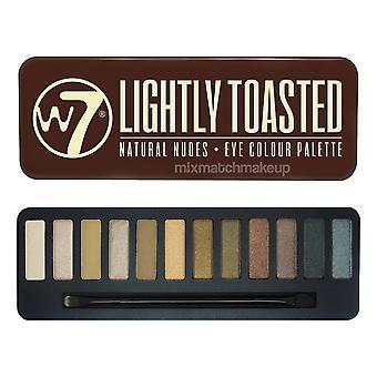 W7 Lightly Toasted Eye Shadow Palette