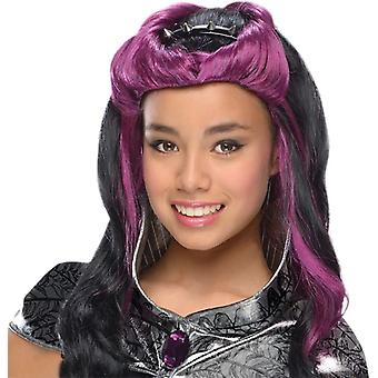 Eah Raven Queen Wig For Children
