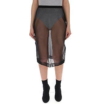 Miu Miu Black Synthetic Fibers Skirt