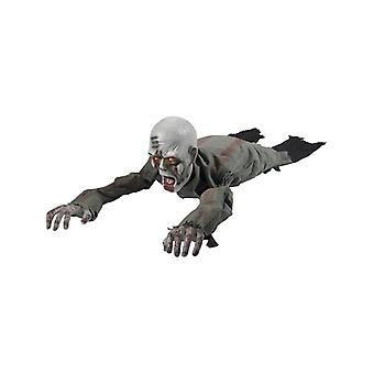 Halloween decoration creeping zombie
