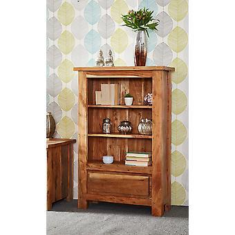 Stone Acacia Small Bookcase
