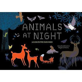 Animals at Night - A Glow-In-The-Dark Book by Anne Jankeliowitch - 978
