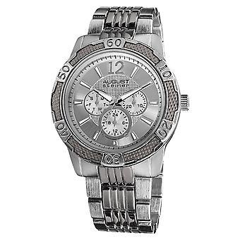 August Steiner Men's AS8058 Sport Quartz Multifunction Bracelet Watch AS8058SS