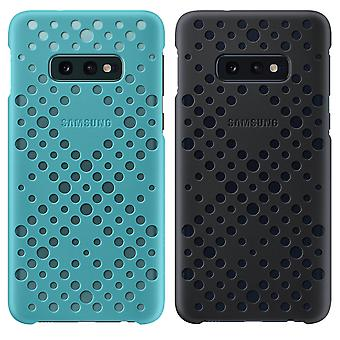 2x S10e Galaxy protective case Perforated Design Rigid protection Black / Green