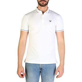 Emporio Armani Men White Polo -- 3G1F523760