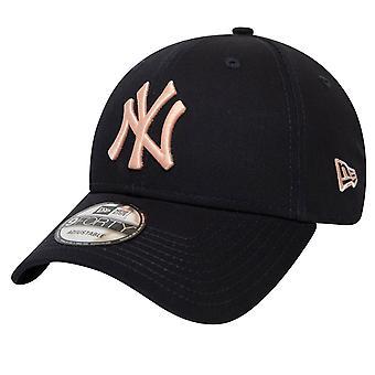 New Era 9Forty Cap - MLB New York Yankees black / rose