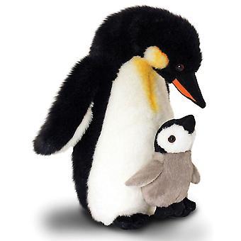 Keel Penguin Mother & Baby Soft Toy 30cm