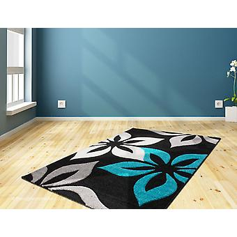 Rosalie Black Blue tapis