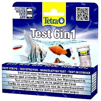 Tetra Test 6 In 1 Water Test Kit (25pk)