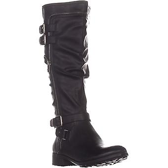 White Mountain Womens Remi Closed Toe Over Knee Riding Boots
