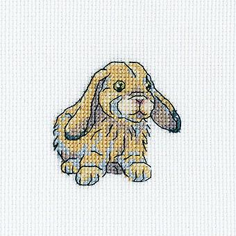 Rabbit Fanny Counted Cross Stitch Kit-3.5