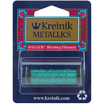 Kreinik Blending Filament 1 Ply 50 Meters 55 Yards Turquoise Bf 029