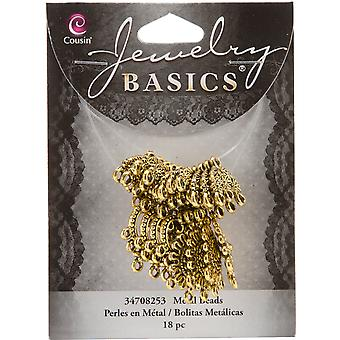 Jewelry Basics Metal Connector Mix 18 Pkg Gold 34708253