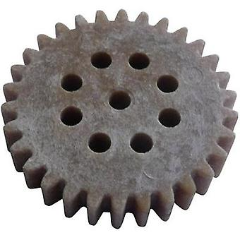 Wood, PVC Cogwheel Modelcraft Module Type: 1.0 No. of teeth: 30 1 pc(s)
