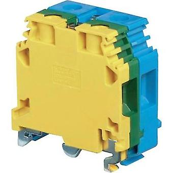 Base terminal block 20 mm Screws Configuration: Terre, N
