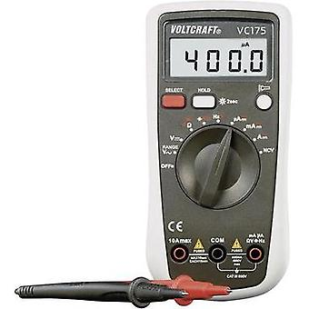 Handheld multimeter digital VOLTCRAFT VC175 Calibrated to: Manufacturer standards CAT III 600 V Display (counts): 4000