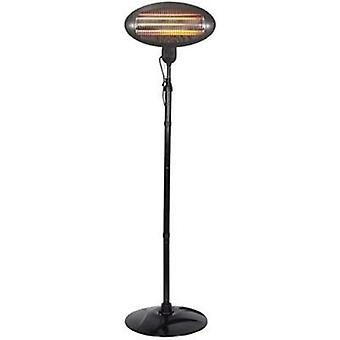 Balcony heater 2000 W Black Velleman TC76208