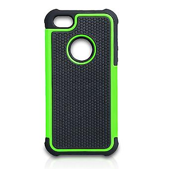 YouSave Accessories iPhone SE Grip Combo Case Green
