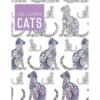 Guild Of Master Craftsman Books-Zen Coloring: Cats GU-42809