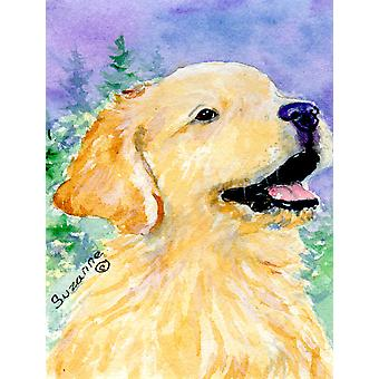 Golden Retriever flagga Canvas House storlek