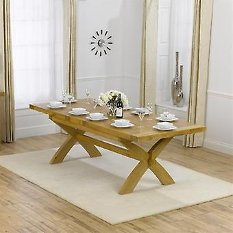 Mark Harris Canterbury 200cm Extending Oak Dining Table