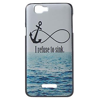 Cover refuse to sink to Kiritkumar Rainbow plastic PC