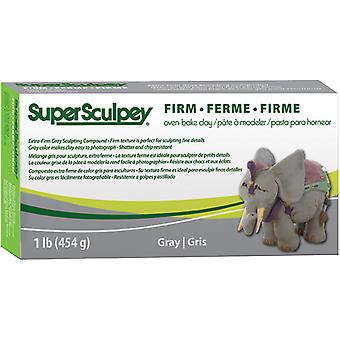 Super Sculpey Firm Ton 1lb-grau SS1SCULP