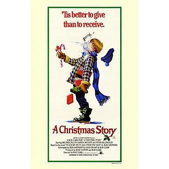 De filmposter van een Kerst verhaal (11 x 17)