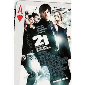 21 Movie Poster (11 x 17)