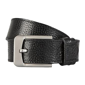 OTTO KERN belts men's belts leather belt black 1426