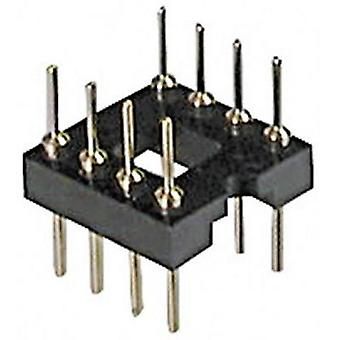 IC adapter socket Contact spacing: 7.62 mm Number of pins: 16 ASSMANN WSW