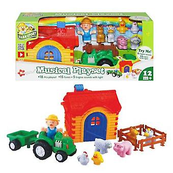 Tachan Musical Farm Playset (Toys , Preschool , Playsets , Stages)